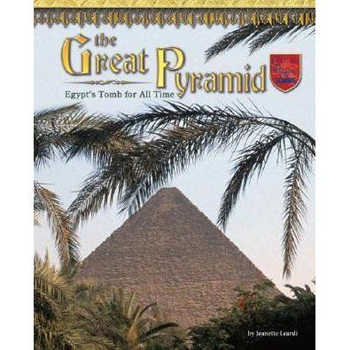 Travel 4,000 years back in time to The Great Pyramid: Egypt's Tomb for All Time Young readers will meet Khufu, a great pharaoh who built ...