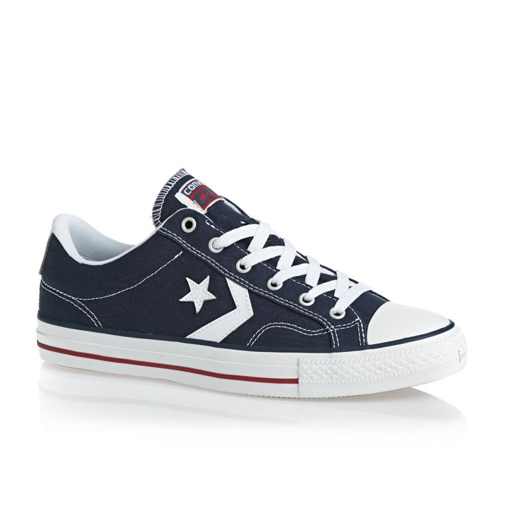 Converse Star Player Shoes - Navy/white