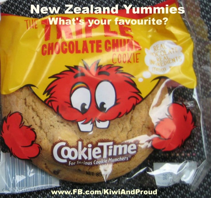 Cookie Time - New Zealand favourites!
