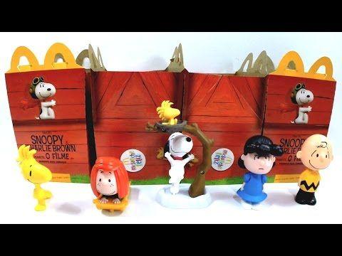 Desenho Snoopy e Personagens - Mclanche Feliz 2016   Mundo dos Toys