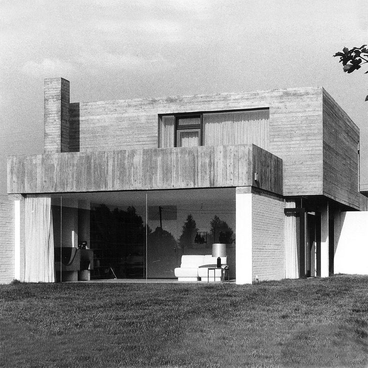 germanpostwarmodern: House Jochims (1969) in Düren, Germany, by Wolfgang Meisenheimer