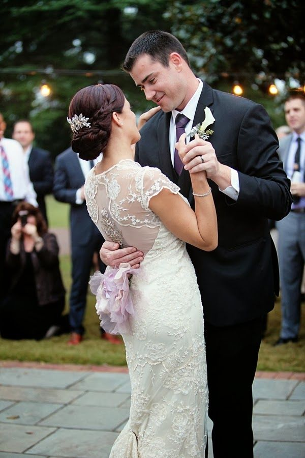 Purple Garden Inspired Hermitage Wedding By Deanna Casey Photography