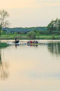 Outdoors photographed  Rowing on the River Corrib