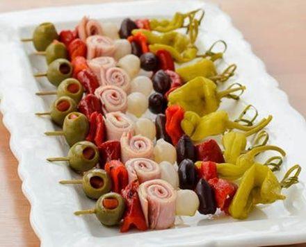 Muffuletta Skewers (Antipasto Skewers)... Happy Hour Appetizers 14 | Hampton Roads Happy Hour - 1, g.12.4, i.11.5