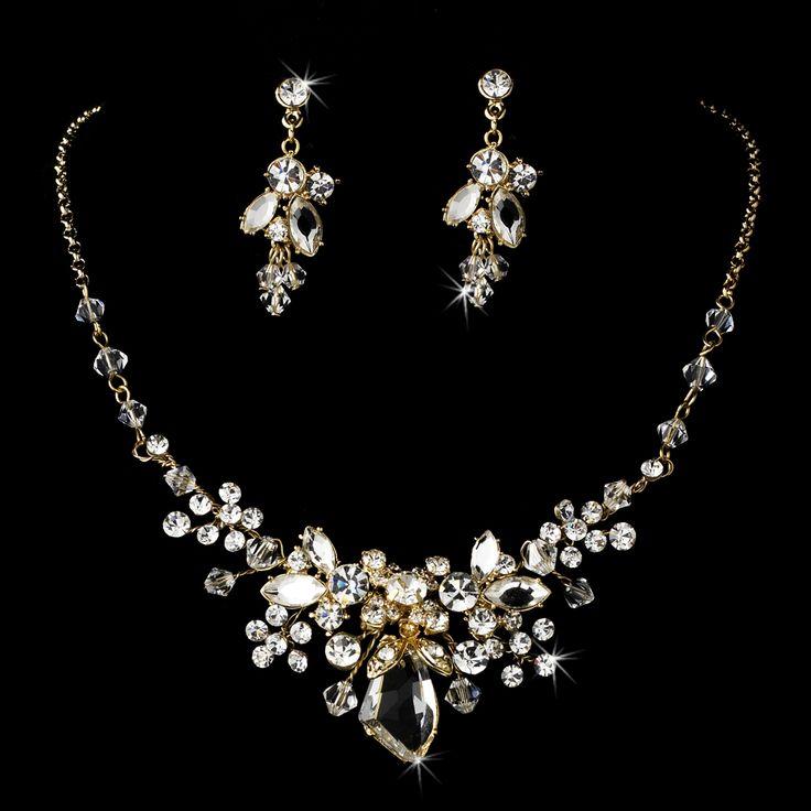 91 best Wedding jewelry images on Pinterest Diy wedding jewellery