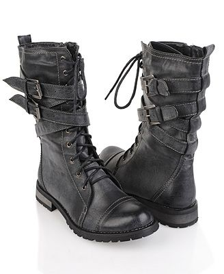 Excellent Women Ankle Booties Military Combat Boots Lace Up Cowboy Fashion Dress