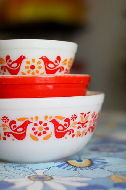 Oh my!  My mother used this bowl to make chocolate chip cookies!