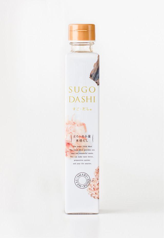 sugo dashi packaging design
