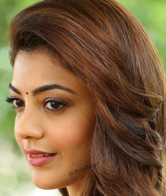 Actress Kajal Aggarwal Beautiful Eyes Smiling Face Closeup Kajal Agg In 2020 Most Beautiful Bollywood Actress Beautiful Women Naturally Most Beautiful Indian Actress