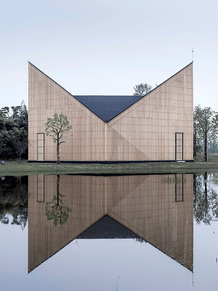 fachada de igreja contemporânea