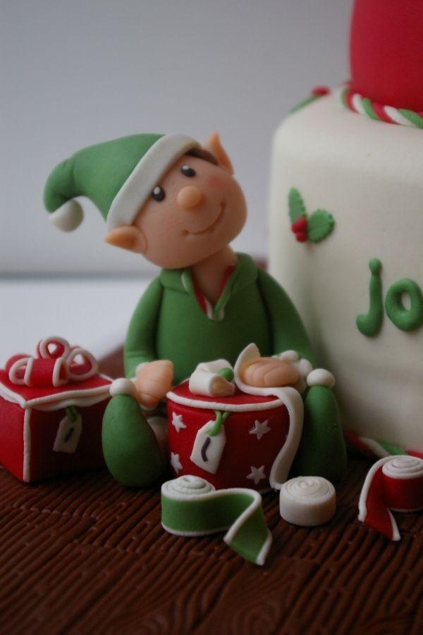 Elf Christmas Cake