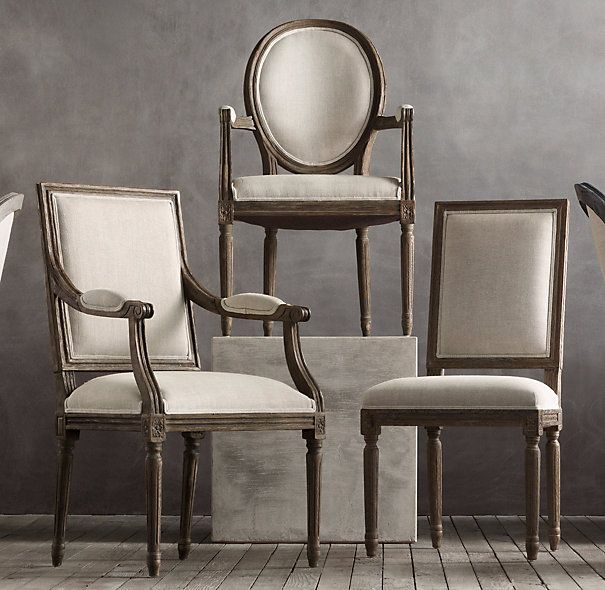 French Colonial, French Chairs, Side Chairs, Dining Chairs, Dining Room,  The Chair, Louis Xvi, Restoration Hardware, Canes