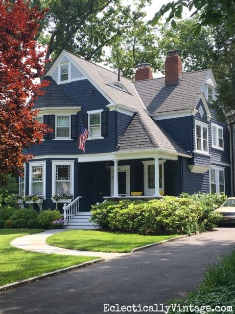 Summer Curb Appeal Houses Curb Appeal House And House Colors