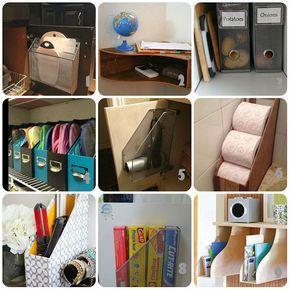 Usi creativi dei raccoglitori da scrivania. (Cucito Creativo)