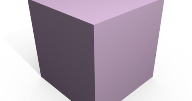 Cómo calcular el área de un cubo. Un cubo es un objeto tridimensional compuesto por 6 cuadrados en ángulo recto el uno del otro. Para calcular el área de un cuadrado, debes multiplicar la longitud de uno de sus lados por 2. Para calcular el área de un cubo, debes multiplicar el área de un cuadrado por 6. Por lo tanto, la fórmula del área de un cubo es 6 veces la longitud de uno de ...