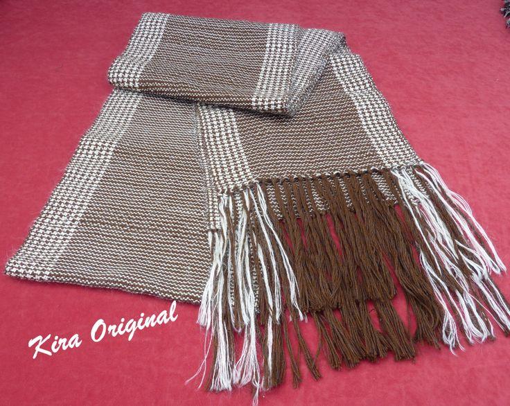Faja para traje regional, lana y algodón, tejida en telar manual.