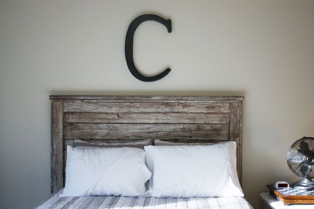 DIY Queen Headboard {Building} - Only $50 and great for beginners