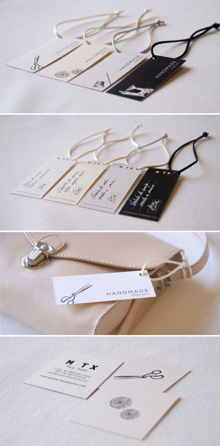 love these labels and business card designs by Carla Cascales Alimbau