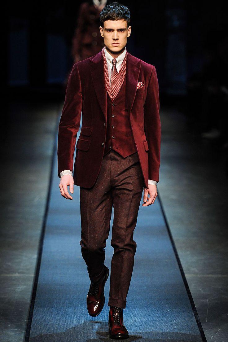Canali Menswear - Pasarela