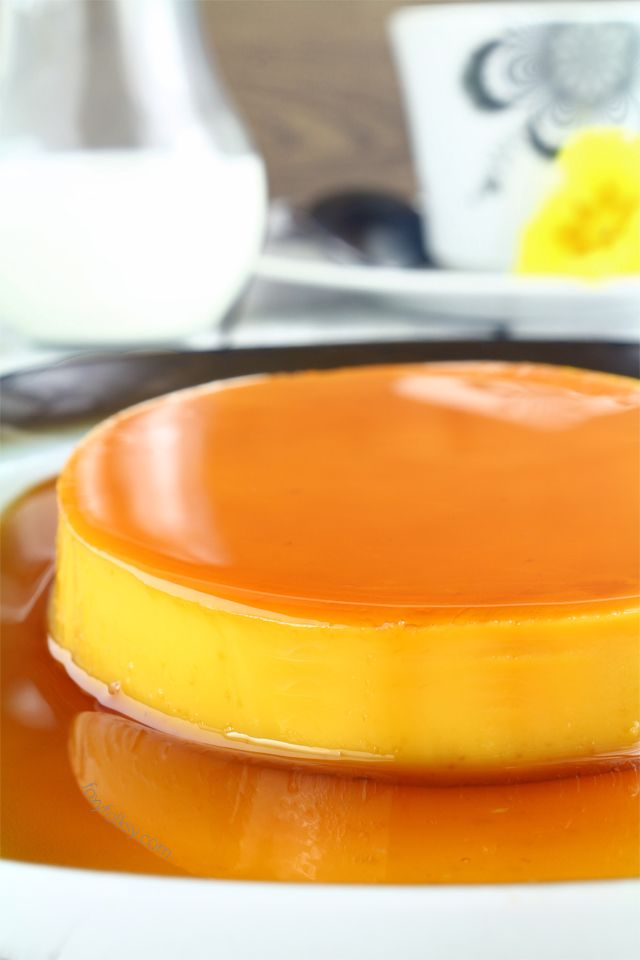 Learn the secret to a perfectly smooth and creamy Leche Flan. Get recipe here!   www.foxyfolksy.com