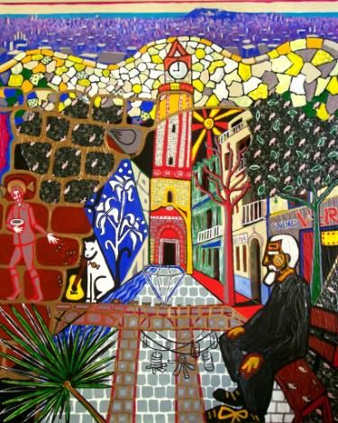 "Saatchi Art Artist Karlijn Surminski; Collage, ""Gràcia"" #art"