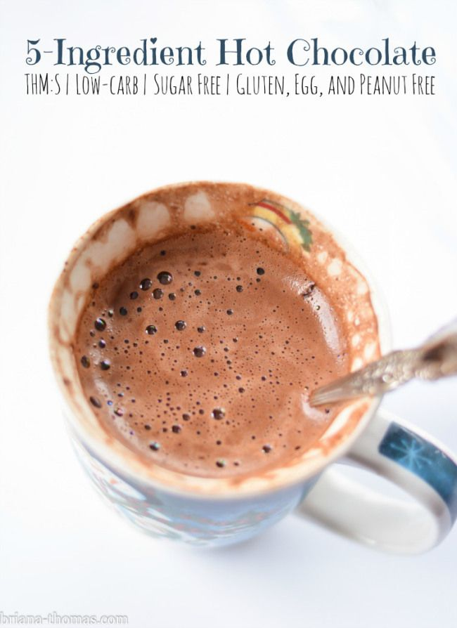 5 Ingredient Hot Chocolate