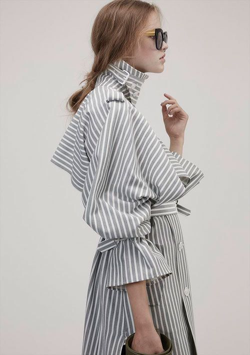 Is it a shirt?...Is it a coat???....look at the details!!!!  Luv it!  -Beautiful People 2017 Resort-Tokyo