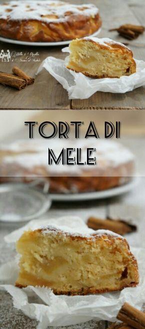 Torta di mele rosse http://blog.giallozafferano.it/mille1ricette/torta-di-mele-rosse/