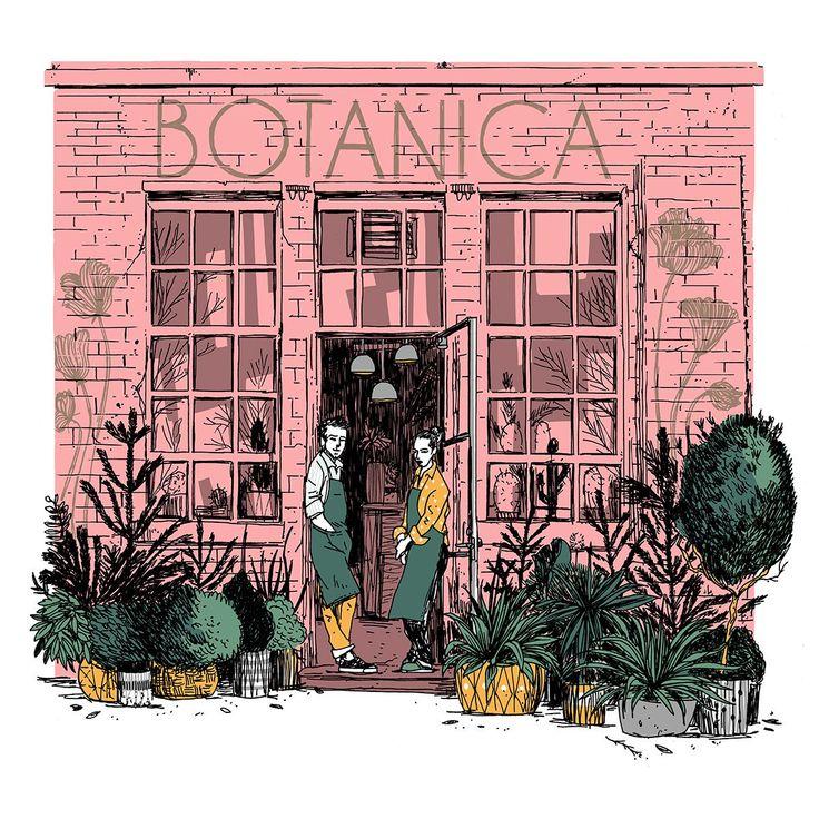 BOTANICA / • DA COFFEE TIME • I l l u s t r a t o r / F r www.dacoffeetime.com