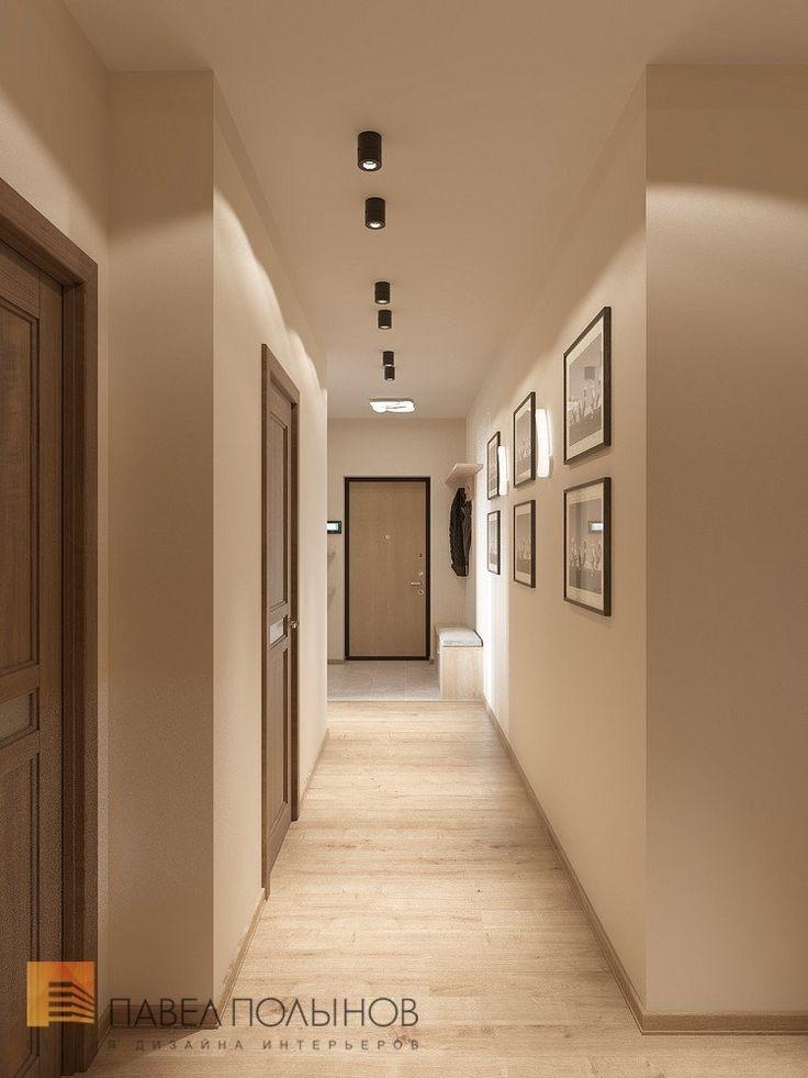 Фото: Интерьер коридора - Интерьер квартиры в современном стиле, ЖК «Солнечный»