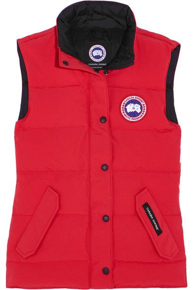 CANADA GOOSE Freestyle quilted shell down gilet. #canadagoose #cloth #outdoor