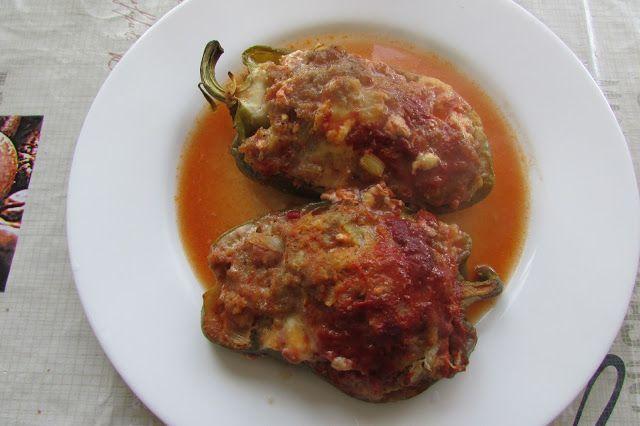 Kulinarne Wariacje: Papryki zapiekane w piecu