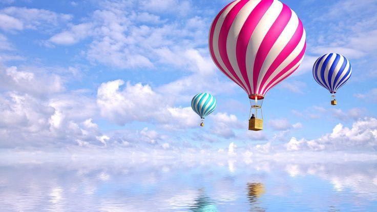 воздушные шары в небе - Поиск в Google