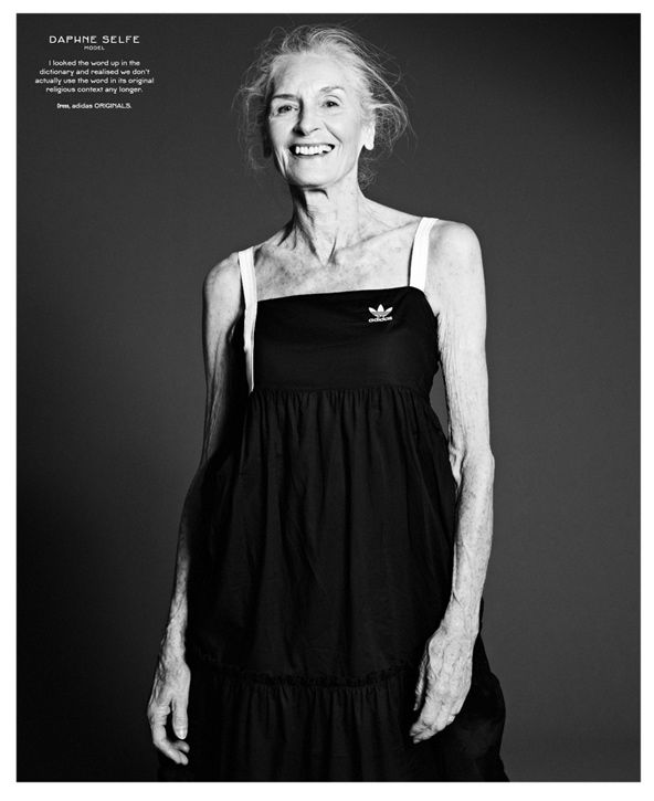 At 83 years old Daphne Self is the oldest super model. Her career in the the fashion industry started 60 years ago but it wasnt until 1998 that she got her big break modeling for Red or Dead. Since then she has appeared in advertisement campaigns for Nivea and Olay, has walked for Dolce & Gabbana & been featured in all the big fashion magazines including Vogue, Marie Claire & Dazed and Confused. Daphne is now signed to Models 1.  Read more on our blog - www.ukmodelsblog.co.uk