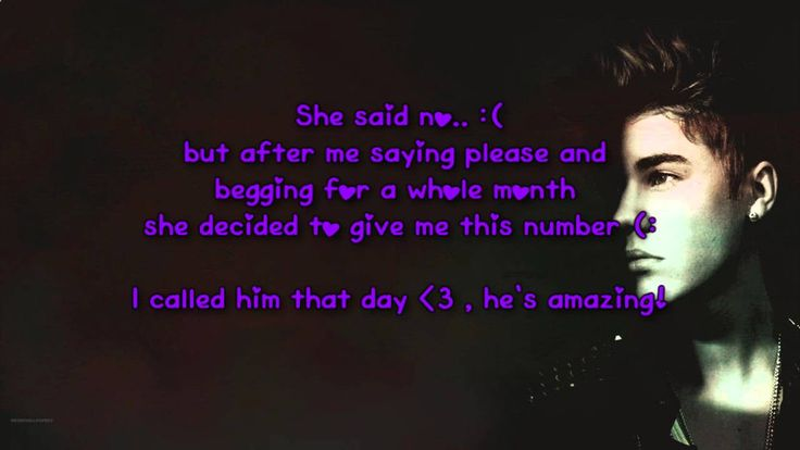 Justin Bieber Phone Number REAL (Working June 2014)