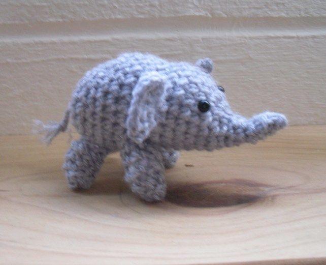 Small Crochet Amigurumi Elephant £7.50