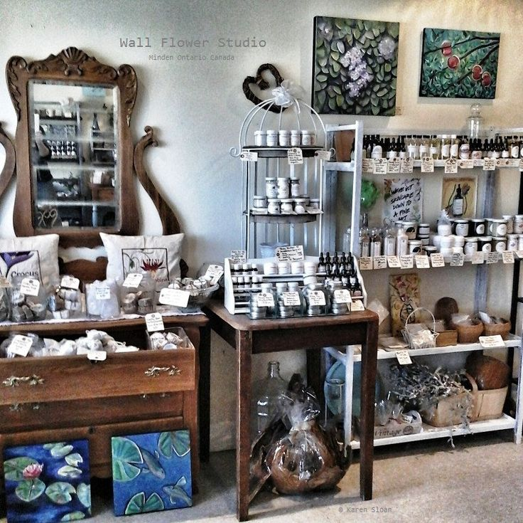 Apothecary product display