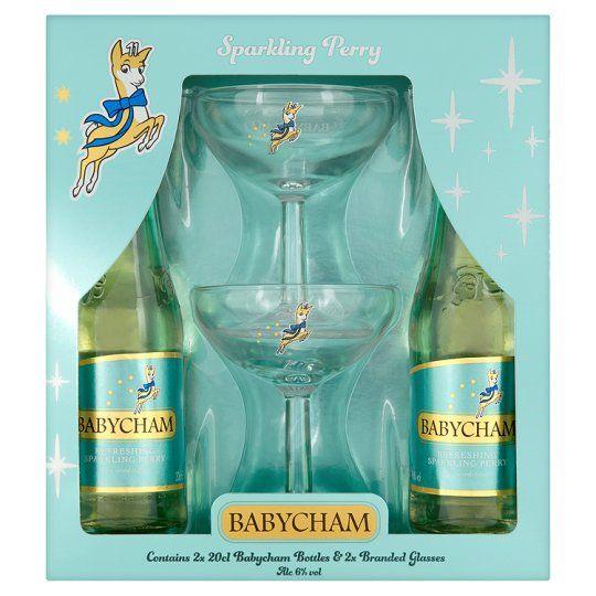 Babycham Bottle And Glass Gift Set