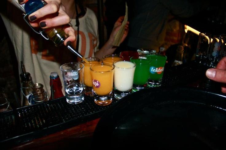 Tektekci - A shot bar in Beyoglu