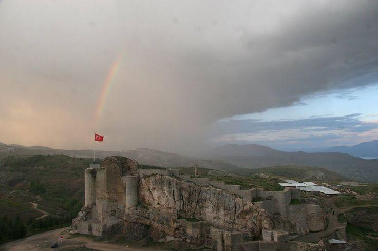 Elazığ - Harput Kalesi.  Fotoğraf: Muhammed Yılmaz