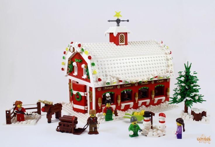 lego christmas present instructions