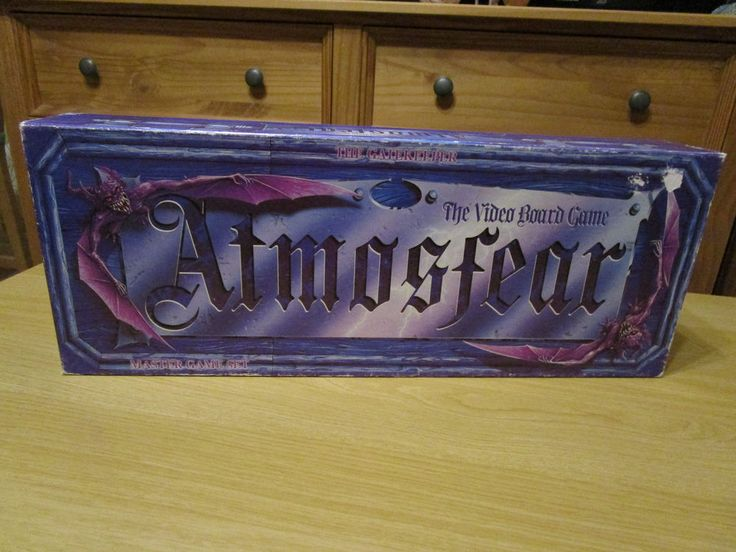 Atmosfear Board Game Nightmare VHS Video Classic Original Vintage Horror 1991