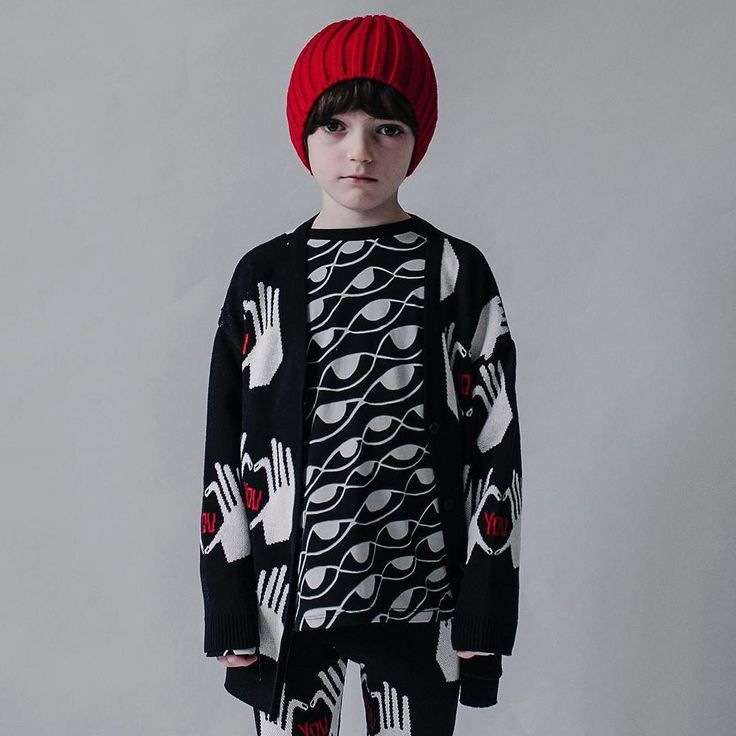 Beau Loves AW17 is here!  The new collection is called Secret Eye Society and is inspired by Beau's adventures playing detective - eyes secret keyholes and Beau's written notebook prints on lovely soft Italian fleece with question marks I Love You hands and stripes on cotton knitwear - how amazing is this cardigan?! . New shapes and styles this season too including some very cool hats.  In our webstore now