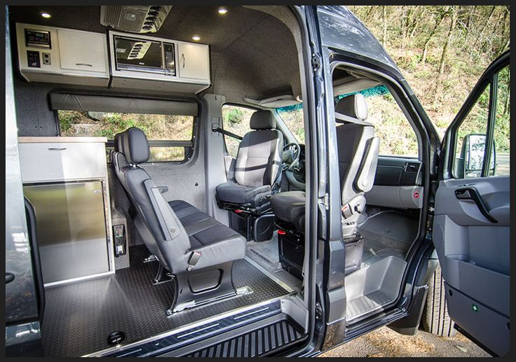 Mercedes Benz Sprinter Camper >> Custom ProMaster | Camper van conversion diy, Campervan ...