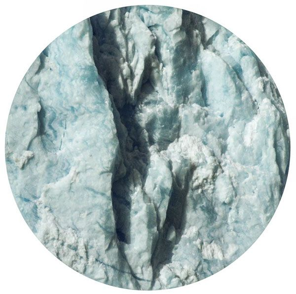 glaciar texture #circles by pato blanche, via Behance | https://www.patoblanche.tumblr.com