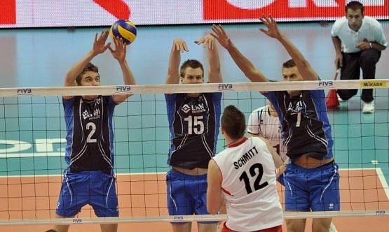 Suomen lentopallo maajoukkue / Finnish volleyball team