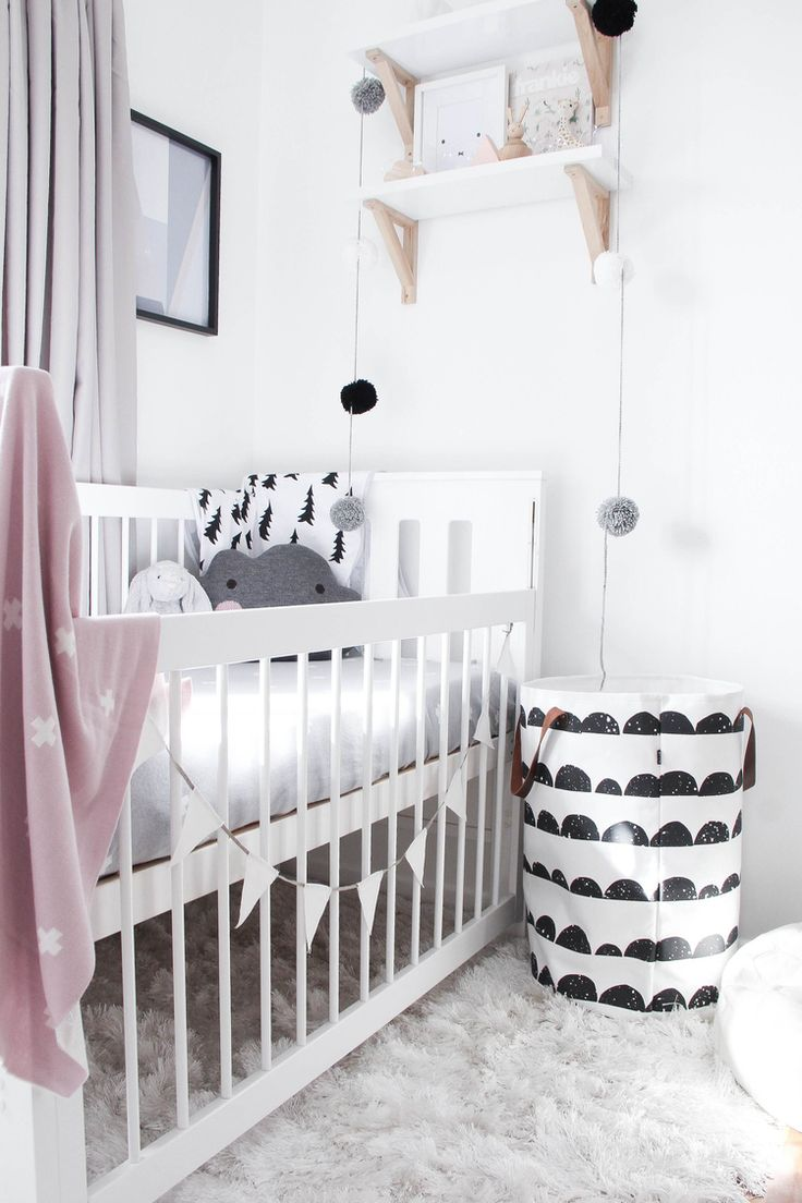 Kinderkamer inspiratie | Black & White