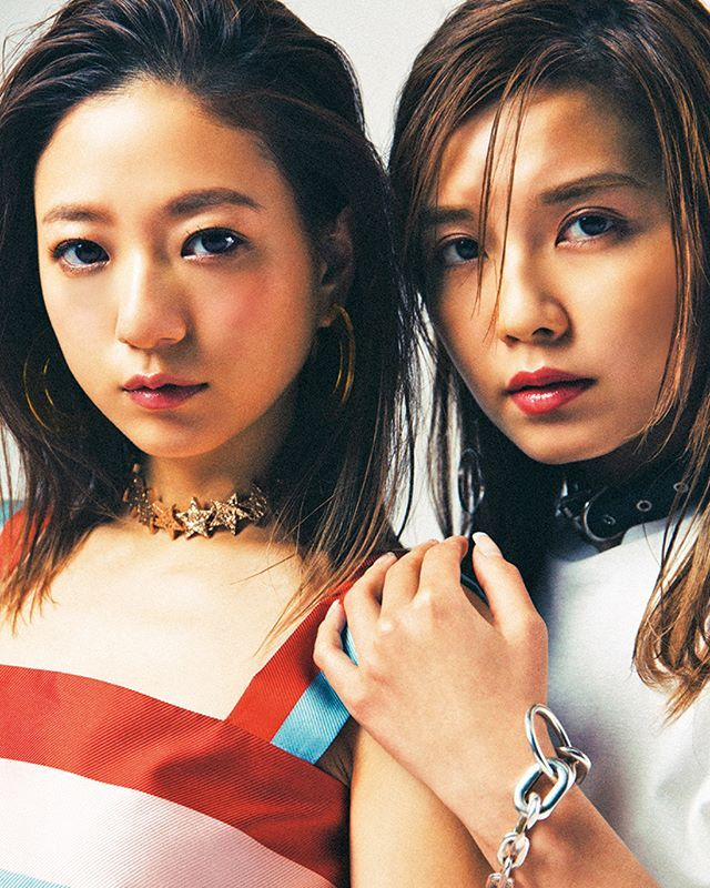 #AAA 7人でのラストシューティングはもうチェックした#伊藤千晃 と #宇野実彩子 のガールズショットが見られるのはこれが最後 May issue P114 WAY OF GLORY model #AAA @misako_uno_aaa @kikichiaki #nylonjapan #nylonjp #culture #fashion #music #wayofglory #specialedition #girls #西島隆弘 #宇野実彩子 #浦田直也 #日高光啓 #與真司郎 #末吉秀太 #伊藤千晃 #caelumjp  via NYLON JAPAN MAGAZINE OFFICIAL INSTAGRAM - Celebrity  Fashion  Haute Couture  Advertising  Culture  Beauty  Editorial Photography  Magazine Covers  Supermodels  Runway Models