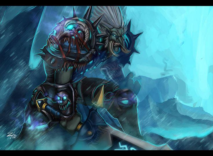Troll Frost DK by on DeviantArt