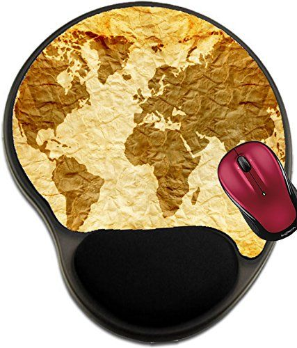 Liili Mousepad wrist protected Mouse Pads/Mat with wrist support design worldmap on old wrinkle paper Photo 21868361 #Liili #Mousepad #wrist #protected #Mouse #Pads/Mat #with #support #design #worldmap #wrinkle #paper #Photo